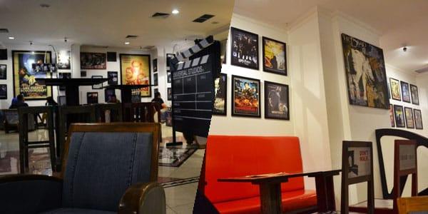 Cinema Bakery Tempat nongkrong di Jogja dengan nuansa cinema atau film