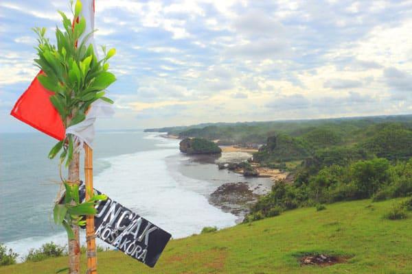 Puncak Kosakora Gunung Kidul Yogyakarta