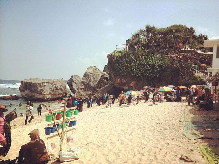 panti-indrayanti-gunungkidul Pantai Indrayanti Sekalian ke Pantai Pulangsawal