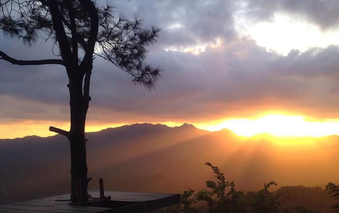 sunrise-kalibiru-jogja Wisata Alam Kalibiru Kulon Progo Yogyakarta