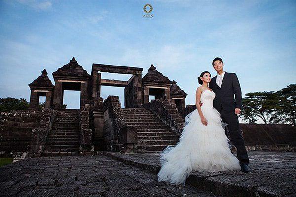 lokasi foto prewedding istana ratu boko - Tempat Terbaik di Jogja Untuk Lokasi Foto Prewedding