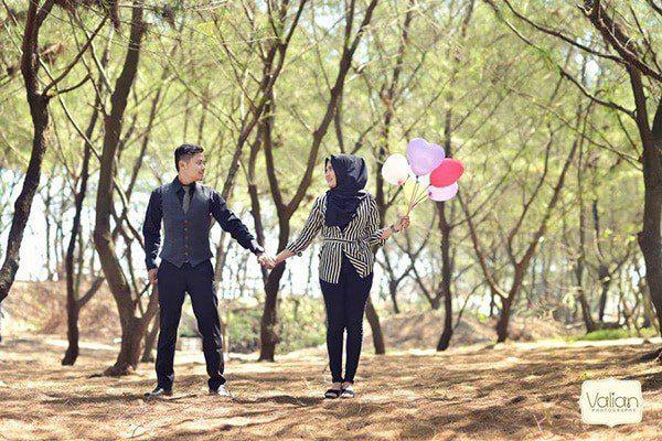 lokasi foto prewedding pantai goa cemara - Tempat Terbaik di Jogja Untuk Lokasi Foto Prewedding