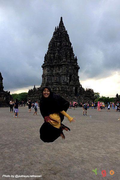 Lokasi Candi Prambanan