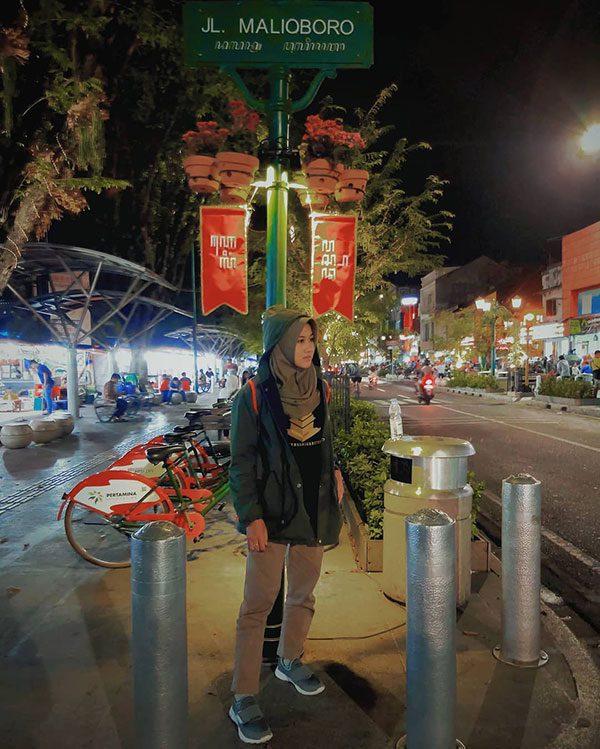 Foto Jalan Malioboro