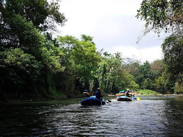 Harga Rafing Sungai Elo