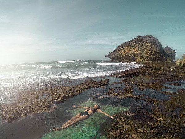 harga-tiket-masuk-pantai-nglambor Pantai Nglambor - Snorkeling Melihat Taman Laut