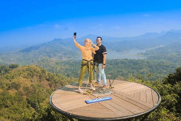 lokasi-kalibiru Wisata Alam Kalibiru Kulon Progo Yogyakarta
