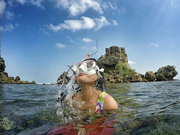 lokasi-pantai-nglambor Pantai Nglambor - Snorkeling Melihat Taman Laut