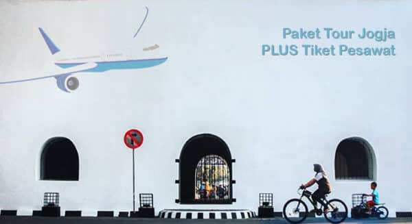 Paket Wisata Jogja Plus Tiket Pesawat