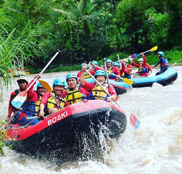 Panduan Rafting Sungai Elo