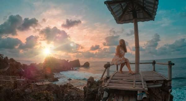 Pantai Nglambor Jogja