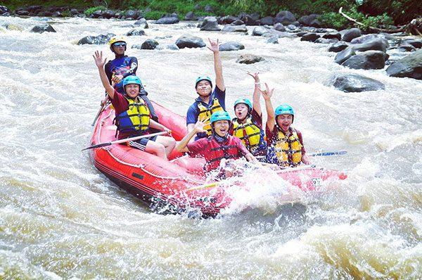Tips Arung Jeram Sungai Elo