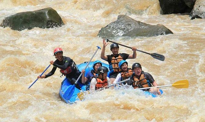 Arung Jeram Sungai Progo Atas