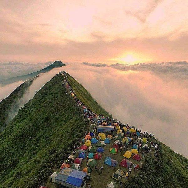 Lokasi Gunung Andong