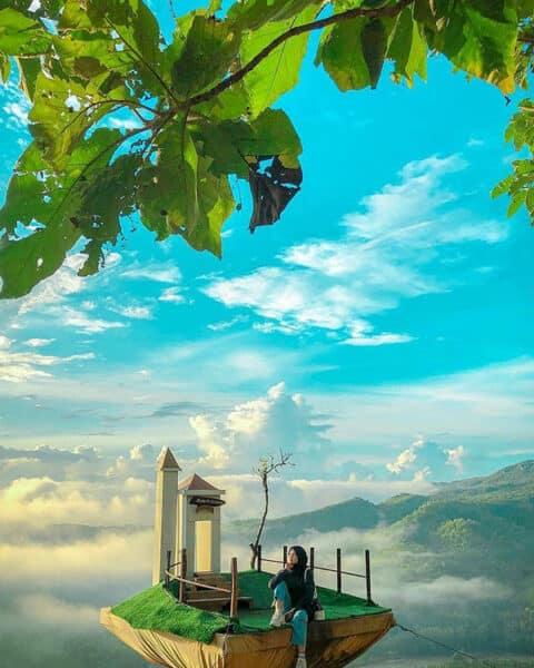 jam-buka-bukti-panguk-kadiwung Spot Foto Wisata Alam Bukit Panguk Kediwung Mangunan Dlingo