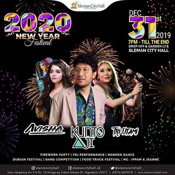 2020 New Years Festival Sleman City Hall
