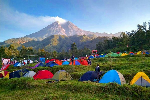 Tempat Camping Bukit Kali Kuning
