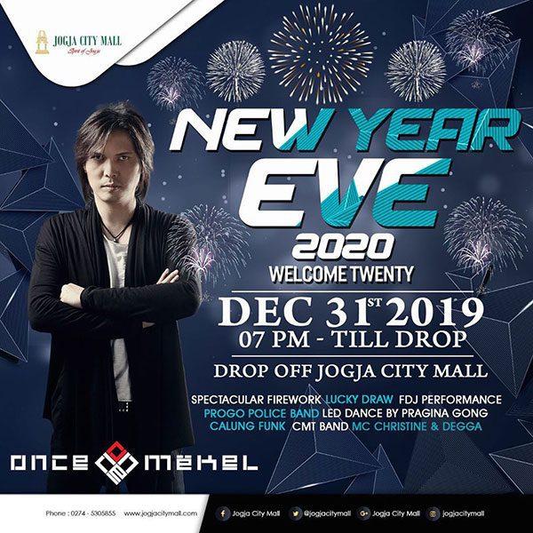 Welcoming Twenty di Jogja City Mall